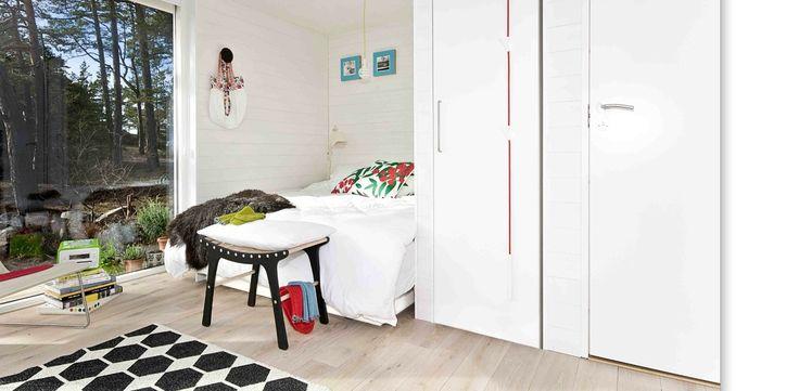 """DesignTorget för Sommarnöjen #sommarnojen #architecture #scandinavia #bedroom """"interior"""