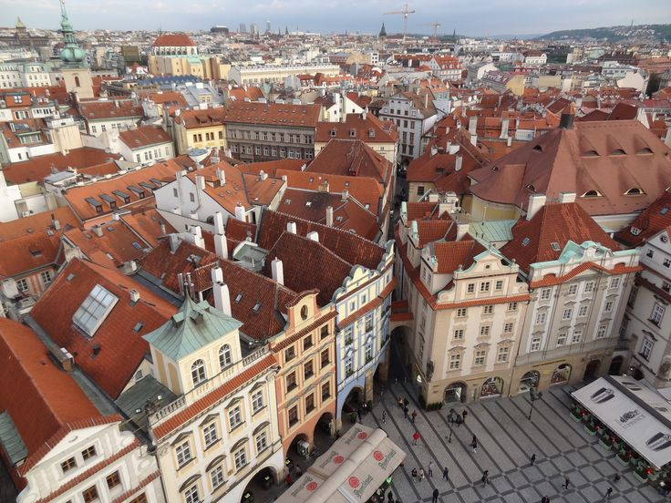 View of Prague from astronomical tower - May 14 2014
