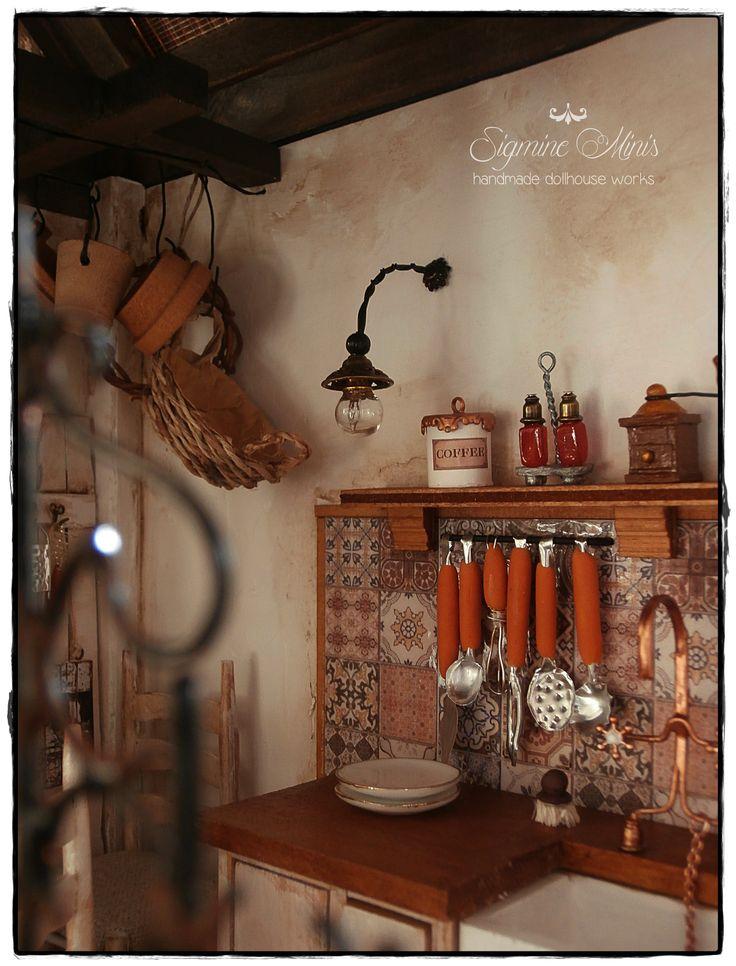 kitchen in summerhouse