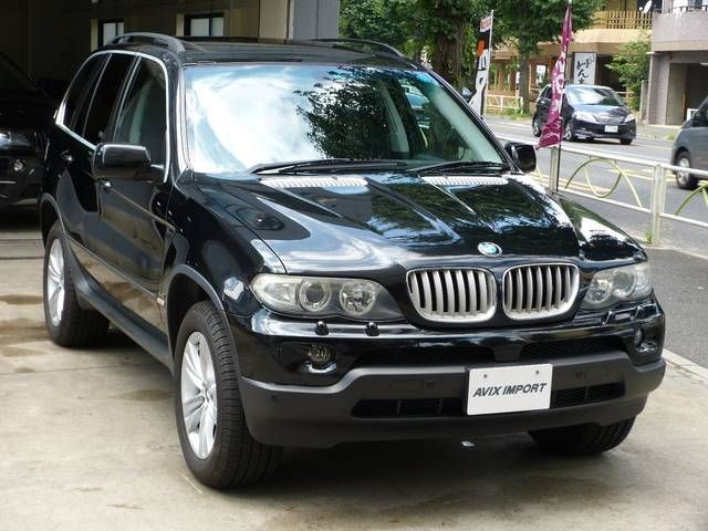 BMW BMW X5 4.4i後期型 パノラマ 黒革ヒーター PDC 純正ナビ禁煙
