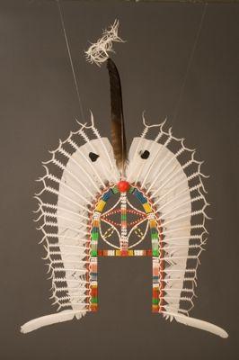 Headdress, Dhari  Made by Wawee Tapau #owl