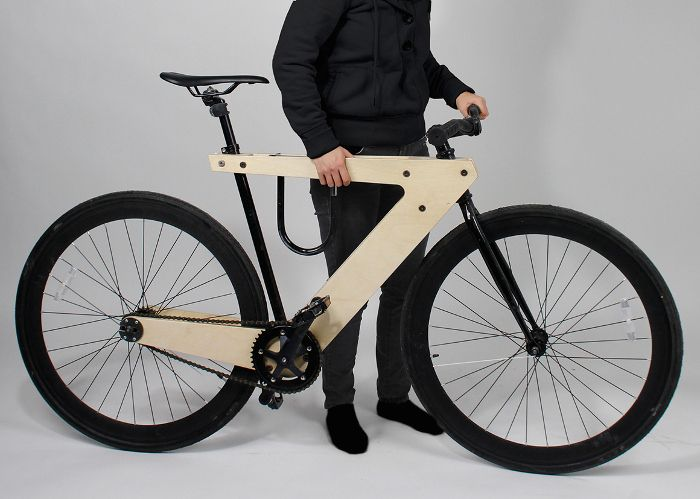 demadera v lo sandwich en bois par william root bikes roots and sandwiches. Black Bedroom Furniture Sets. Home Design Ideas
