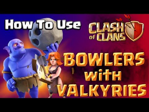 Clash of Clans | How To Use The Bowler Troop and Valkyries - GoVaBo Attack Strategy - CoC New Update - http://freetoplaymmorpgs.com/clash-of-clans/clash-of-clans-how-to-use-the-bowler-troop-and-valkyries-govabo-attack-strategy-coc-new-update