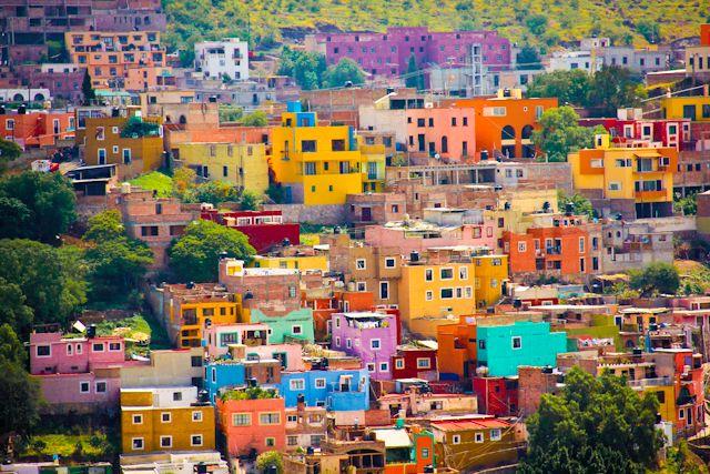 Top 20 des endroits les plus colorés au monde