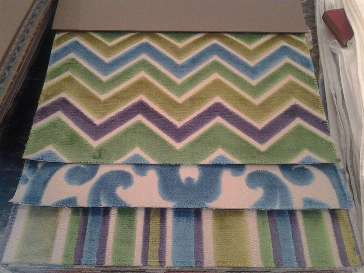 tessuti in vari colori per per doppie tende, copriletto e cuscini