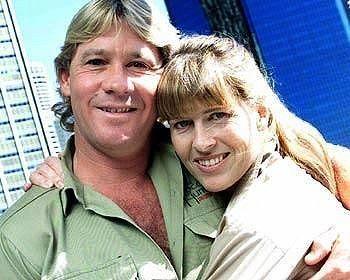 Steve & Terri Irwin....what a love story