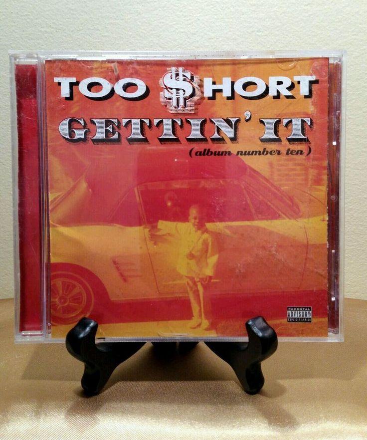TOO SHORT - GETTIN IT (Album # Ten) RARE ORIGINAL OOP RAP HIP HOP CD R&B VINTAGE #GangstaHardcore