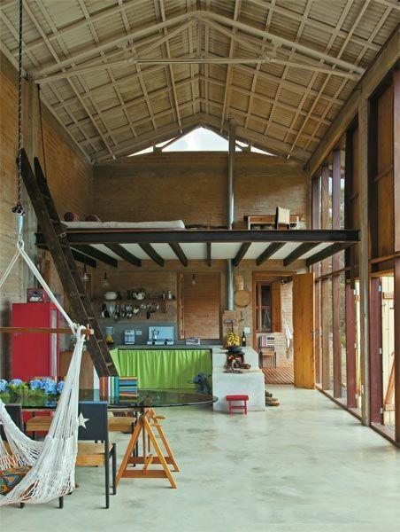 TUDOarrumado: Antigo galpão vira nova casa!