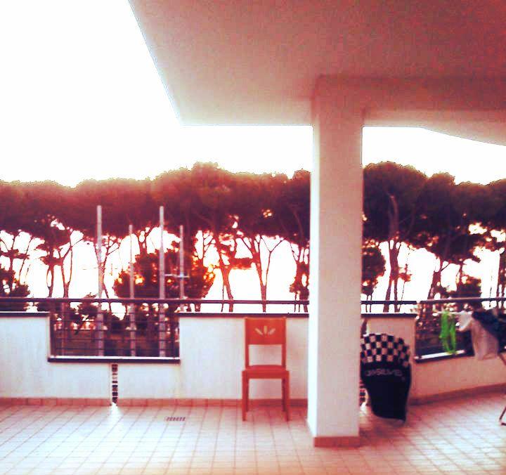 Z terasy pohled přímo na moře * Italy - Pineto Abrazzo *