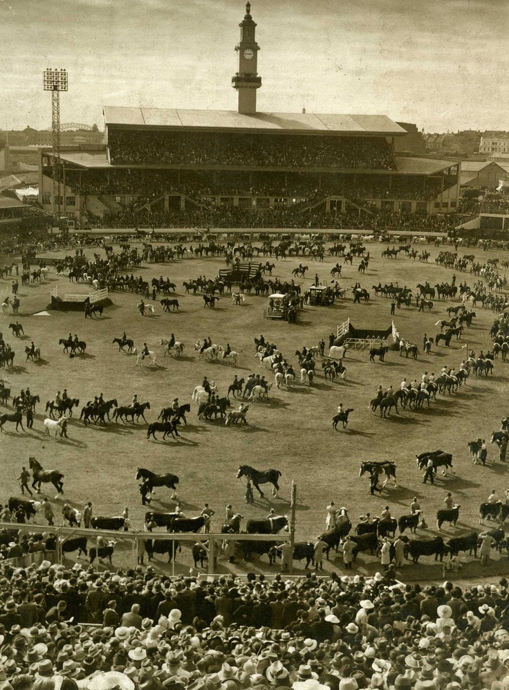 Sydney Royal Easter Show through the years - the Grand Parade.