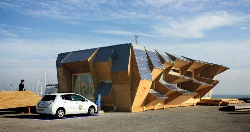 ¿Una casa modular hecha con una impresora 3D? si, esta en Barcelona