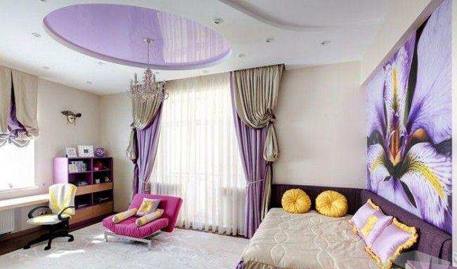 HappyModern.RU | Натяжные потолки в детской комнате (63 фото): виды и особенности выбора | http://happymodern.ru