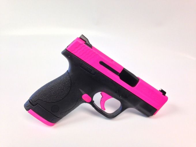 Smith and Wesson : For Sale: Hot Pink Smith & Wesson Shield 9mm