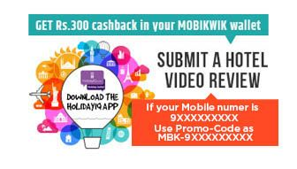 For every approved Hotel Video Review, the user will get Rs. 300 #MobiKwik #Cashback. Click https://goo.gl/63wskf & get details.