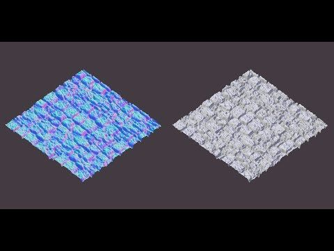 Blender tutorial | Normal Maps made easy - YouTube | TNS