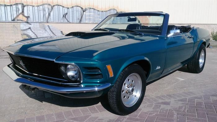 Currently at the Catawiki auctions: Ford Mustang Cabriolet - 1970