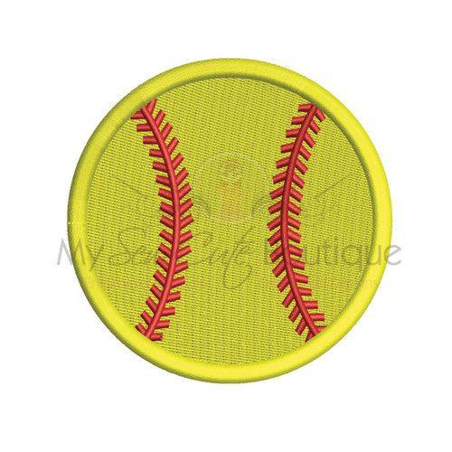 Softball-Stickmuster  Baseball Sport von mysewcuteboutique auf Etsy