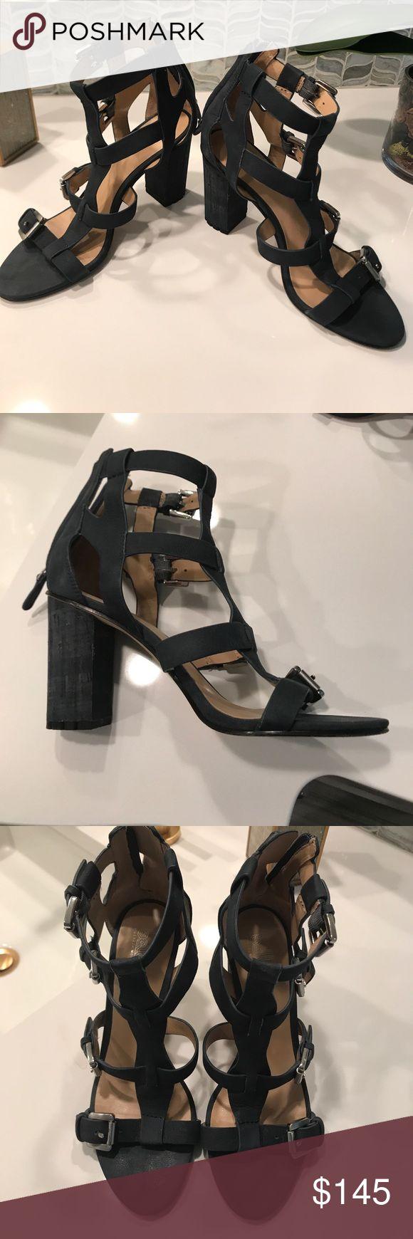 Sigerson Morrison Gladiator Sandal Sigerson Morrison Women's navy blue leather gladiator sandal. Back zipper. Slightly worn but in great condition. No marks at all. Sigerson Morrison Shoes Sandals