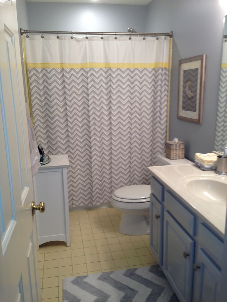 57 Best Ideas For Yellow And Grey Bathroom Redo Images On
