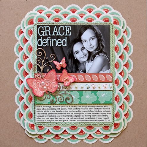 Scrapbook page ideas scrapbook creative side pinterest scrapbook pages circle punch and - Scrapbooking idees pages ...