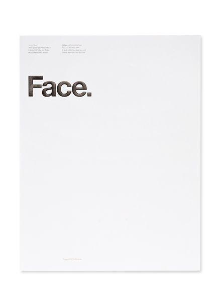 Face letterhead
