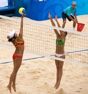 Match de beach volley