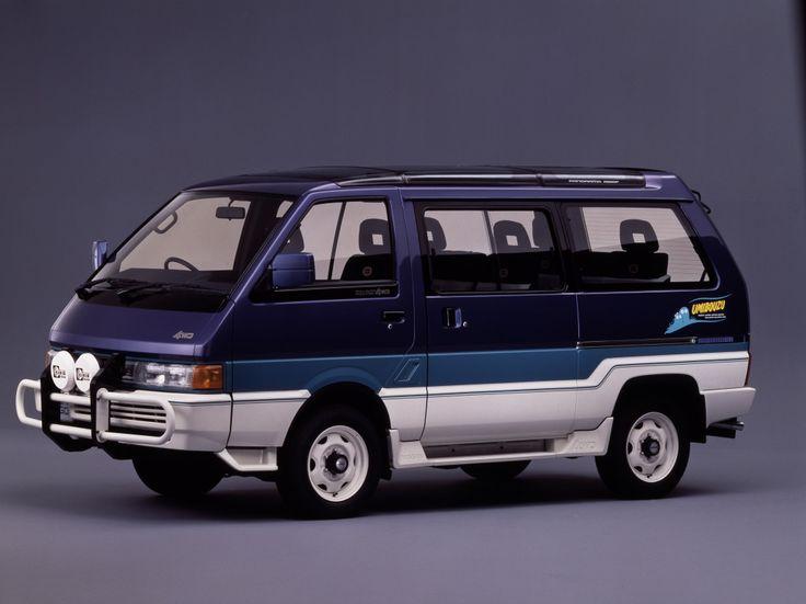 """Autech Nissan Vanette Largo """"Umibouzu"""" Coach 4WD (GC22) '1989"""