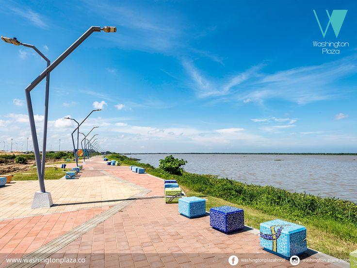 Malecón de la avenida del río - Barranquilla, Colombia. http://bit.ly/2gDpIMk