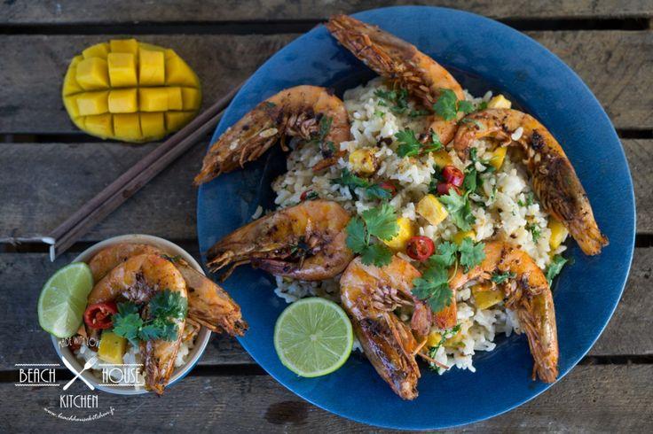 Beach House Kitchen: Mangorisotto kuningaskatkaravuilla   K-Ruoka #blogiyhteistyö