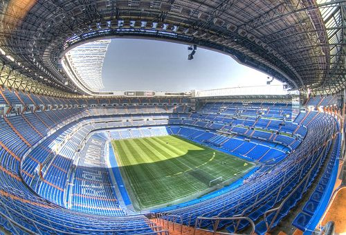 Real Madrid Futbol Stadium. Catch a game here if you can. There is nothing like it!