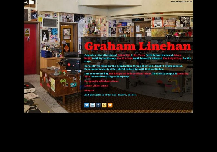 Graham Linehan's page on about.me – http://about.me/glinner