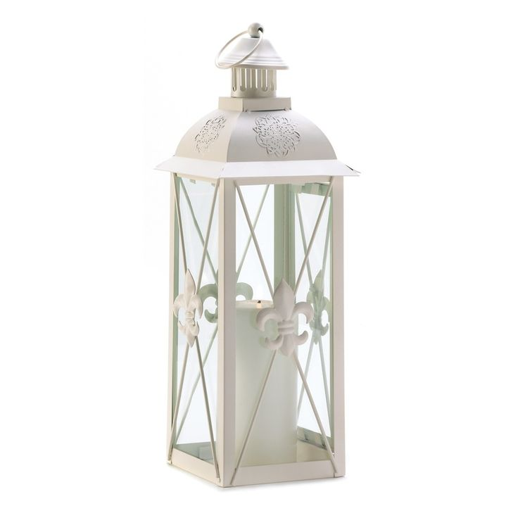 I love how beautiful and simple this white lantern appears with its designs on the outside and little lighthouse top. I've heard that having lanterns like this in your home can help create the feeling of a beach atmosphere that is very relaxing. I'll be sure to look for a lantern like this one the next time I'm out shopping for things to add to our home.