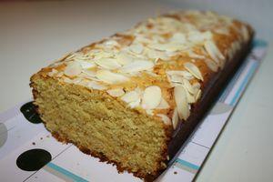 Gâteau orange amande à la farine de pois chiche