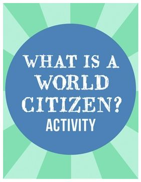 "FREE LANGUAGE ARTS LESSON - ""What is a World Citizen?  Activity"" - Go to The Best of Teacher Entrepreneurs for this and hundreds of free lessons.  1st - 4th Grade  #FreeLesson  #LanguageArts  http://www.thebestofteacherentrepreneurs.net/2014/11/free-language-arts-lesson-what-is-world.html"