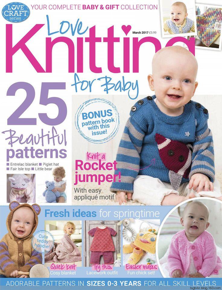 Love Knitting for Baby March 2017 - 轻描淡写 - 轻描淡写