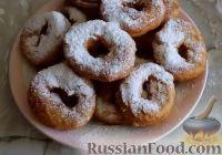 Фото к рецепту: Жареные пончики на кефире