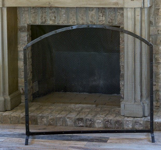 Metal Fireplace Screens | Rustic Fireplace Screens | Decorative Fireplace Screens