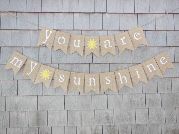 you are my sunshine baby shower - Google Search