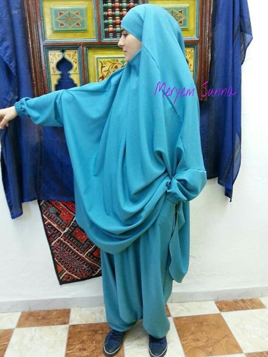 Jilbab with soural