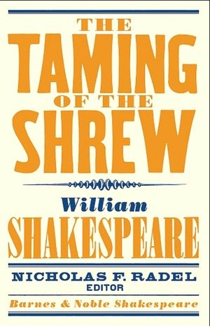 I'm on a mission to read most of Shakespeare's comedies.