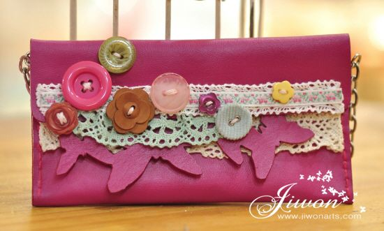 Jiwon Crafts Blog: Butterfly Purse