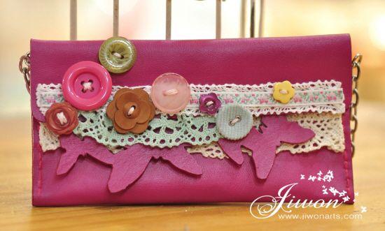 Jiwon Crafts Blog: Butterfly Purse
