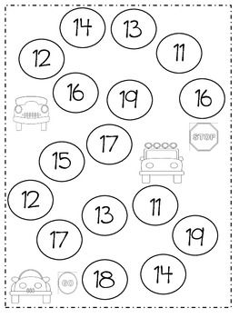 Math Number Game for Teens (11-19) - Lori Boyd - TeachersPayTeachers.com