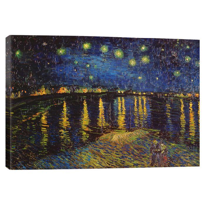 Starry Night Over the Rhone. Van Gogh