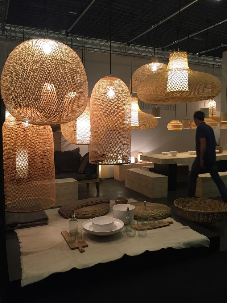 Ay illuminate at Maison&Objet Sept. 2015 with lamps designed by Nelson Sepulveda and Ay Lin Heinen