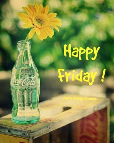 E hoje é sexta-feira, bom dia!!