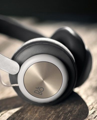 Beoplay H4 / Gold Grey Headphones Leather spinned Textile Fabric
