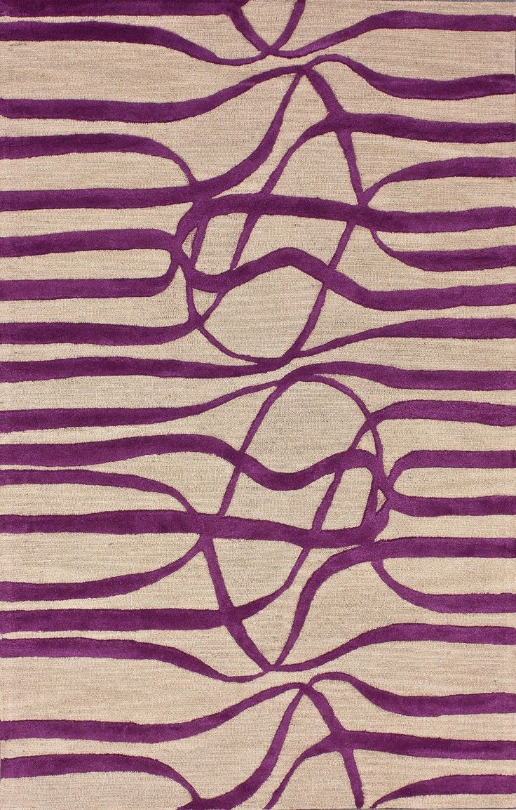 Bella Elite Purple Area Rug
