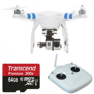 DJI Phantom 2 with gopro hero