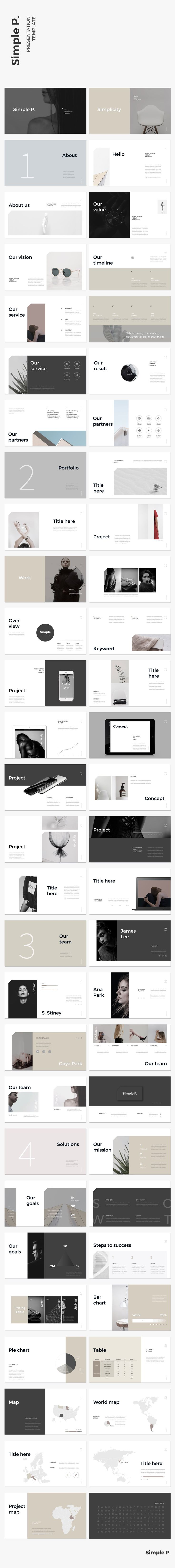 Best 25 pamphlet template ideas on pinterest pamphlet design simple p powerpoint template alramifo Choice Image